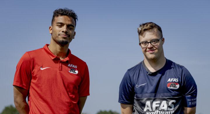 Wijndal verrast Daan van de AZ Wonderboyz: Samen zijn we één team