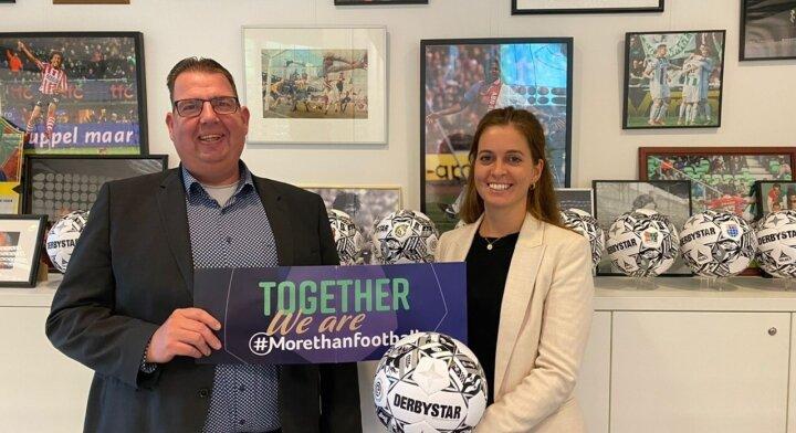 Eredivisie CV en EFDN slaan handen ineen om maatschappelijke impact te vergroten