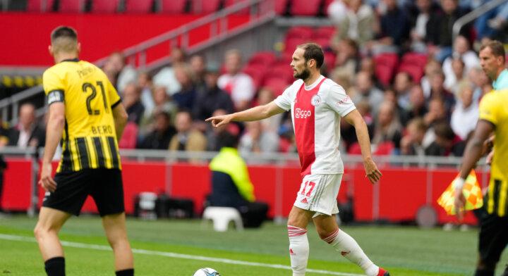 Daley Blind in illuster rijtje bij 200ste Eredivisieduel