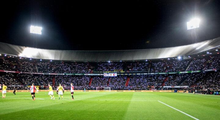 Feyenoord fans in stunning tribute to Brad Jones during VVV-Venlo draw