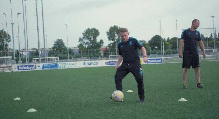 ADO Den Haag helpt supporter Michael (38) met gezonde leefstijl