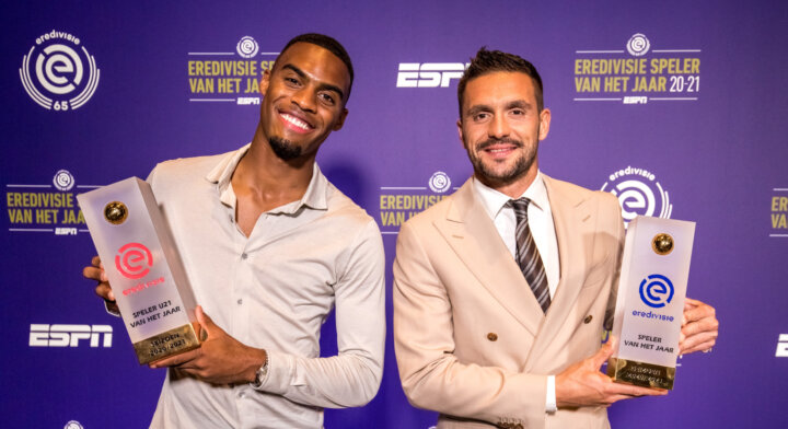 Tadić, Gravenberch and Senesi all winners in the Eredivisie Player of the Year Event
