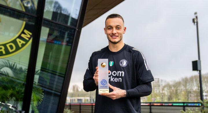 Bijlow Eredivisie Speler van de Maand April, Timber Speler U21