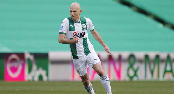 Arjen Robben zet punt achter imposante carrière