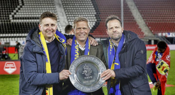Directie De Graaf en Van den Belt drie jaar langer bij sc Cambuur