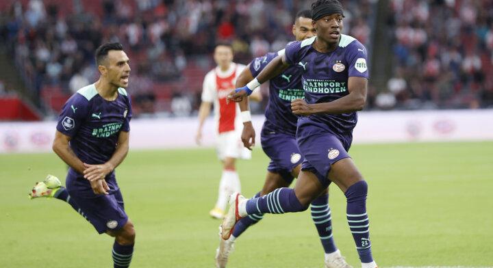PSV pakt Johan Cruijff Schaal dankzij ontketende Madueke