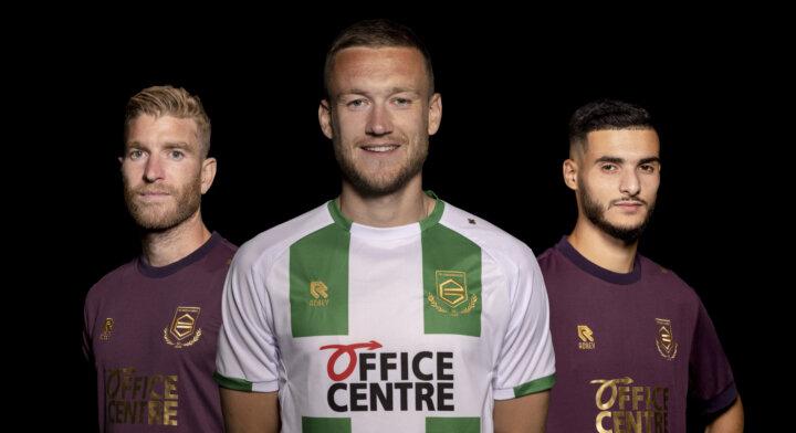 FC Groningen en Robey lanceren nieuwe wedstrijdshirts