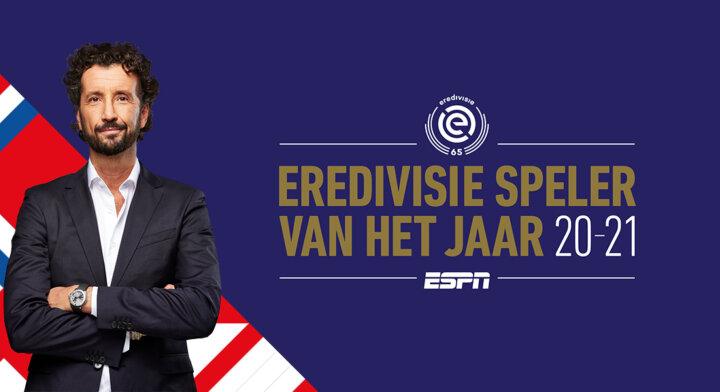 Bekendmaking 'Eredivisie Speler van het Jaar' live bij ESPN